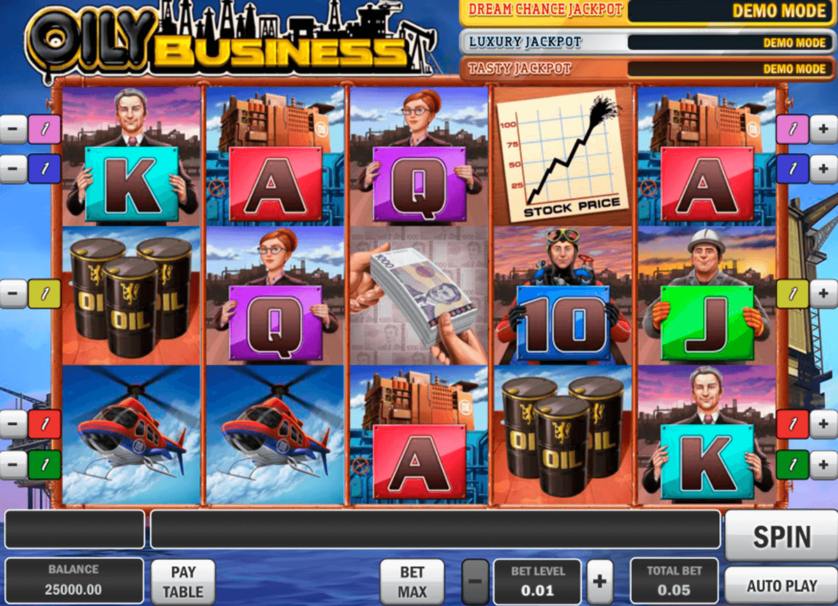 oily business playn go casinospil online