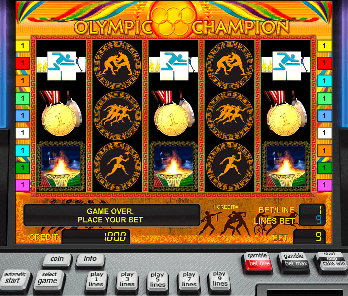 olympic champion novomatic casinospil online