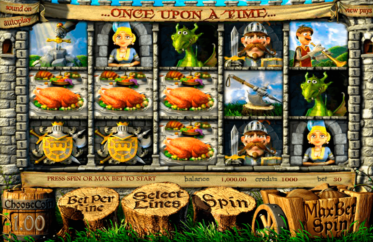 once upon a time betsoft casinospil online