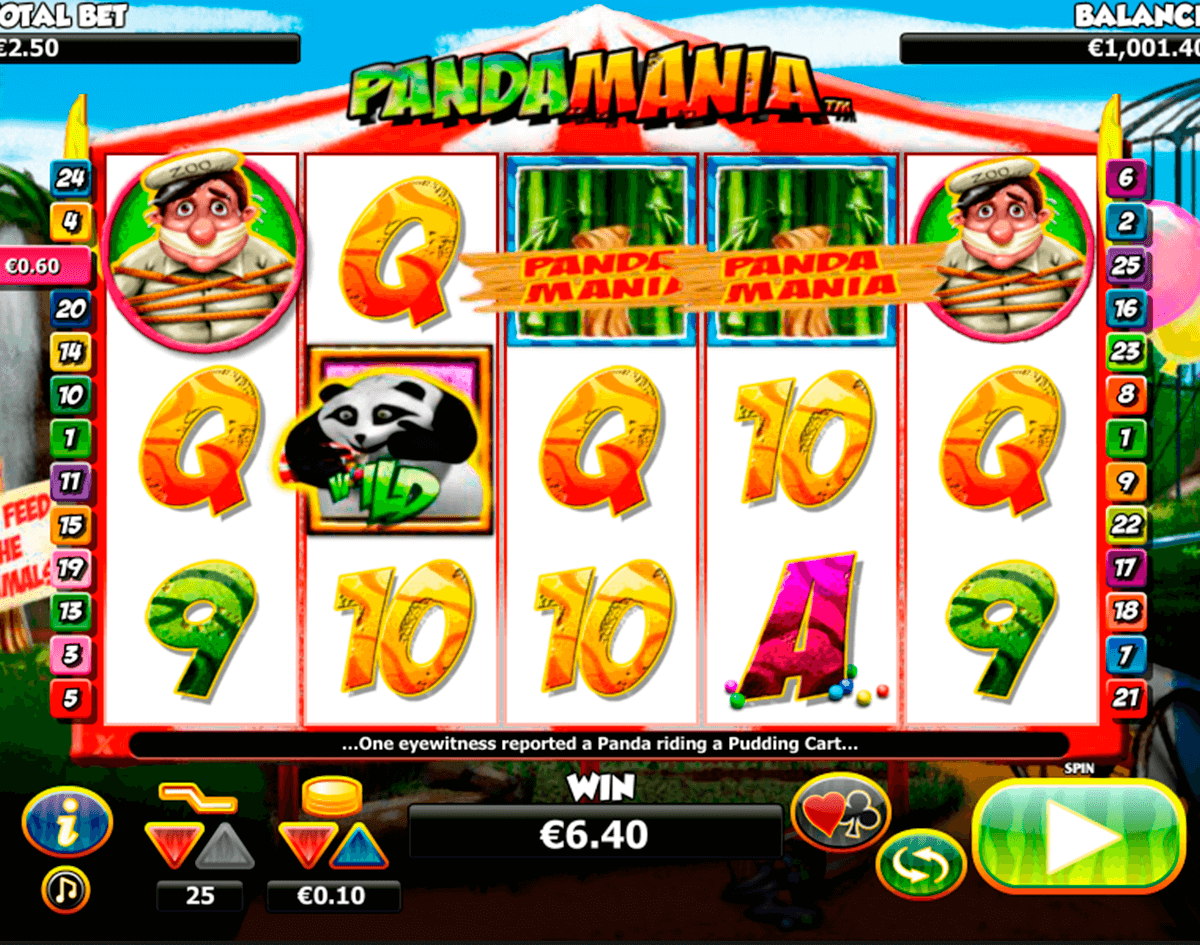pandamania nextgen gaming casinospil online