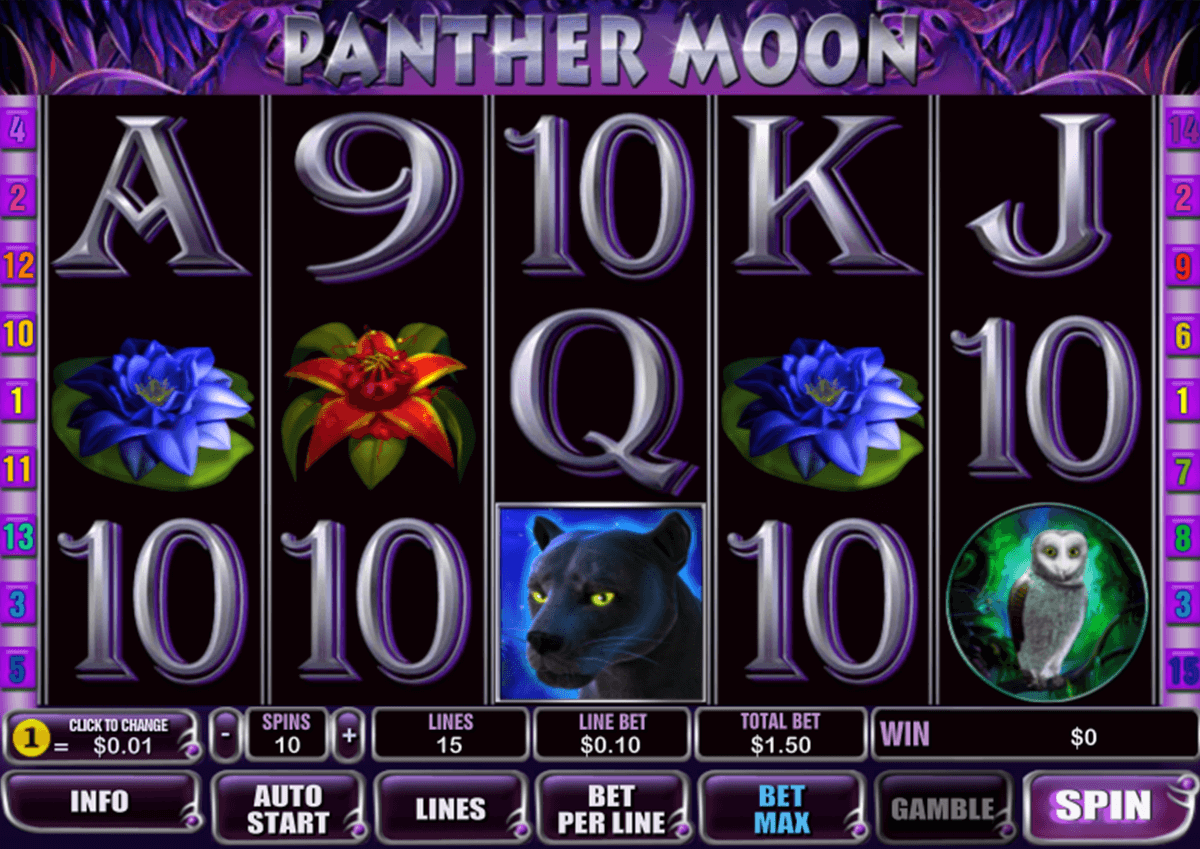panther moon playtech casinospil online