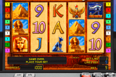pharaohs gold ii deluxe novomatic casinospil online