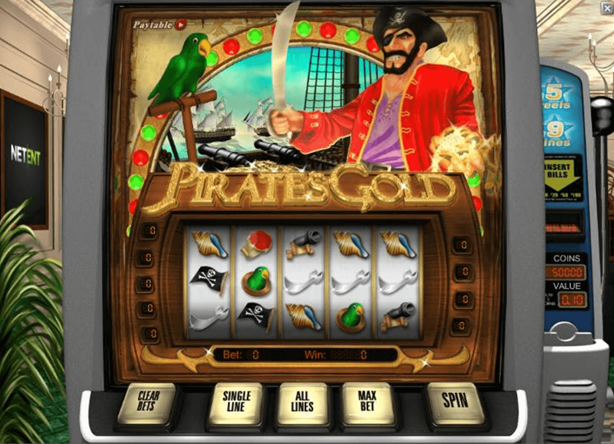 pirates gold netent casinospil online