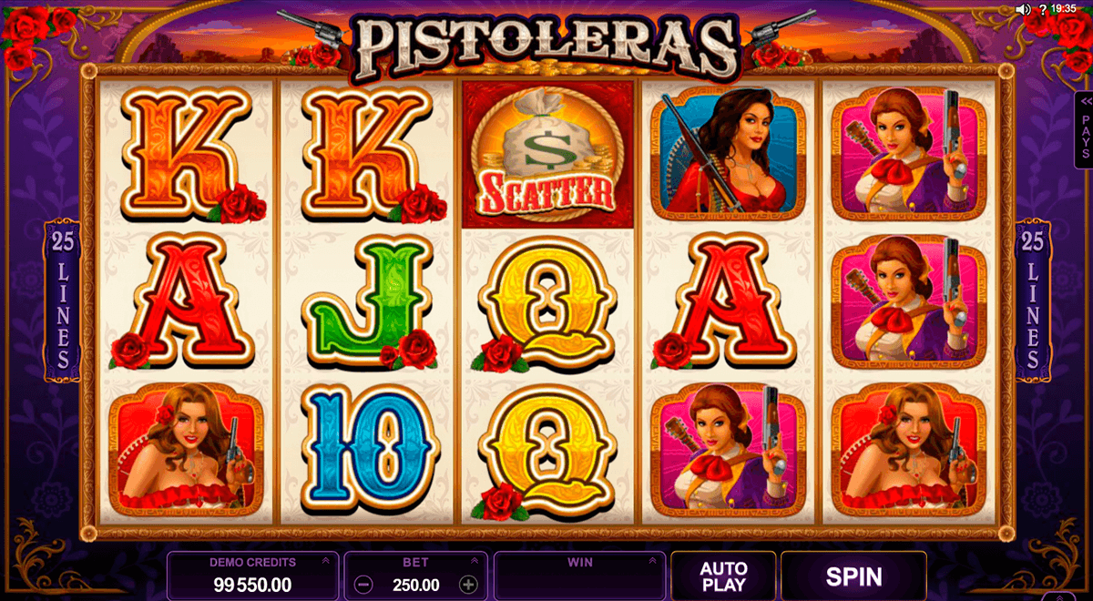 pistoleras microgaming casinospil online