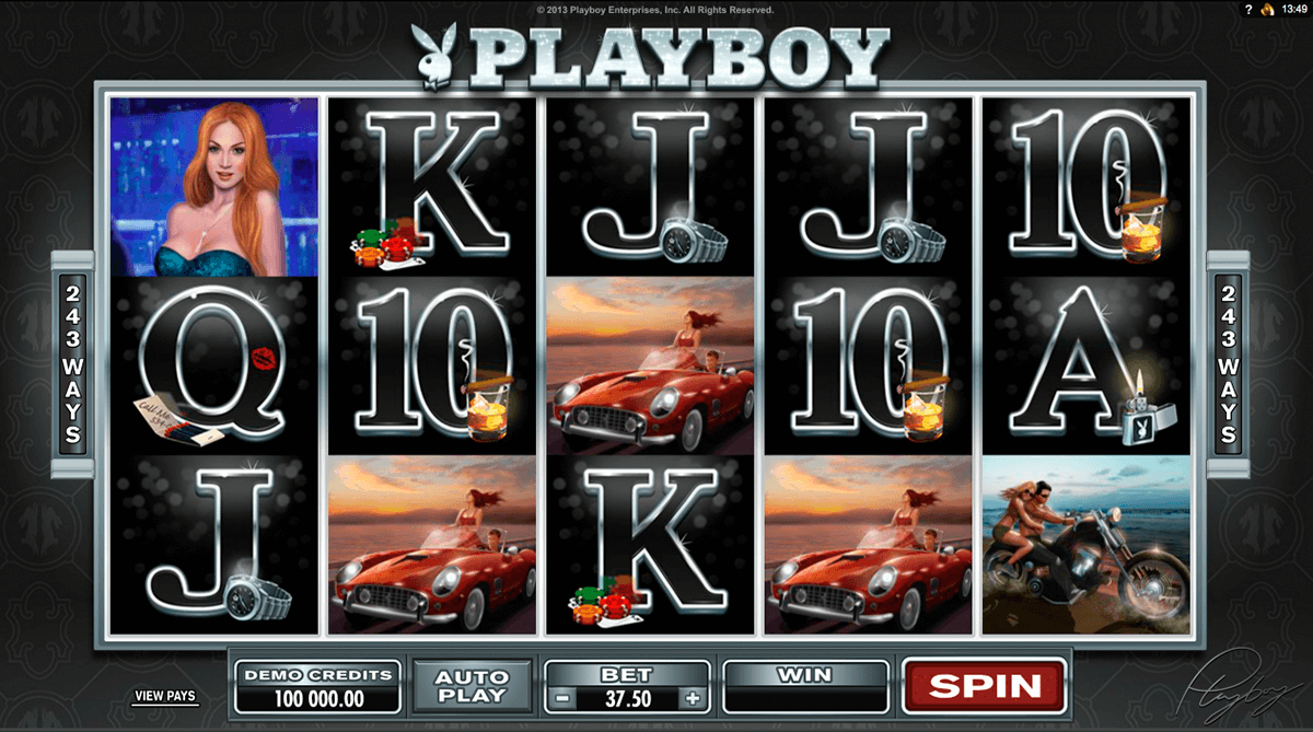playboy microgaming casinospil online