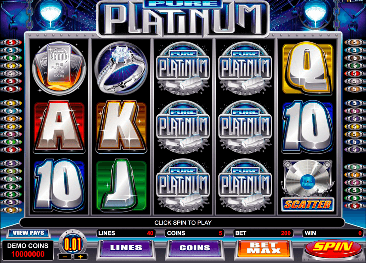 pure platinum microgaming casinospil online