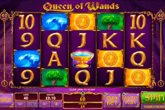 queen of wands playtech casinospil online