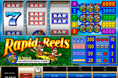rapid reels microgaming casinospil online