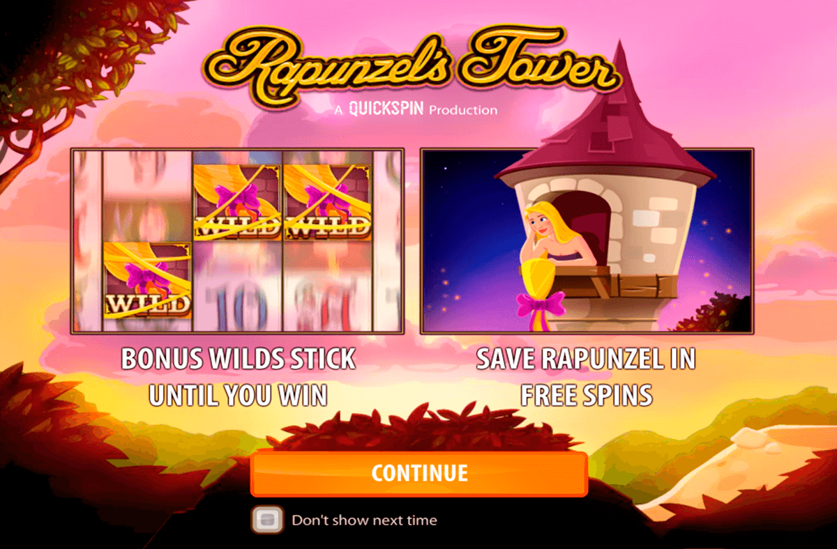 rapunzels tower quickspin casinospil online