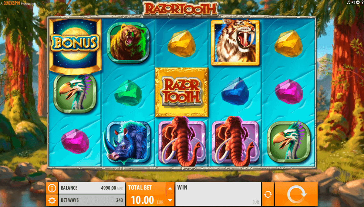 razortooth quickspin casinospil online