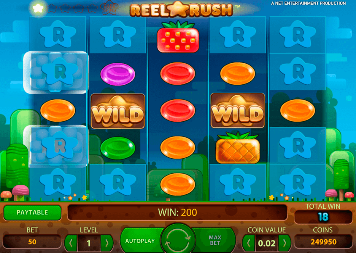reel rush netent casinospil online