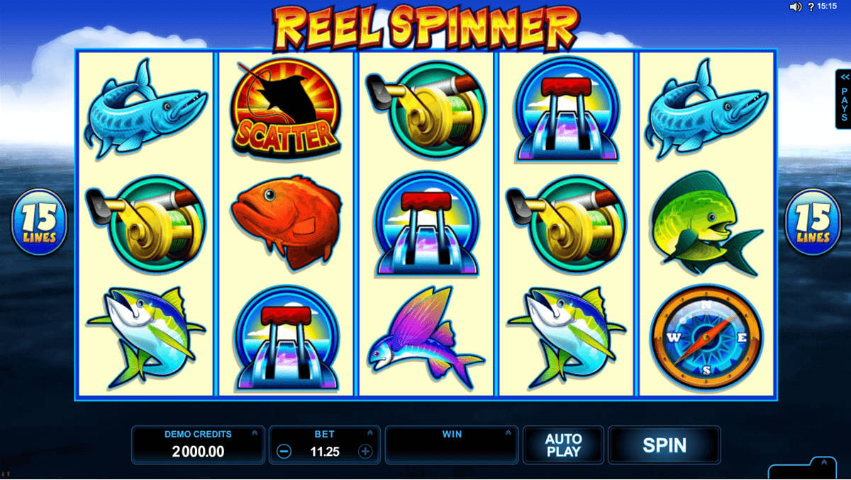 reel spinner microgaming casinospil online
