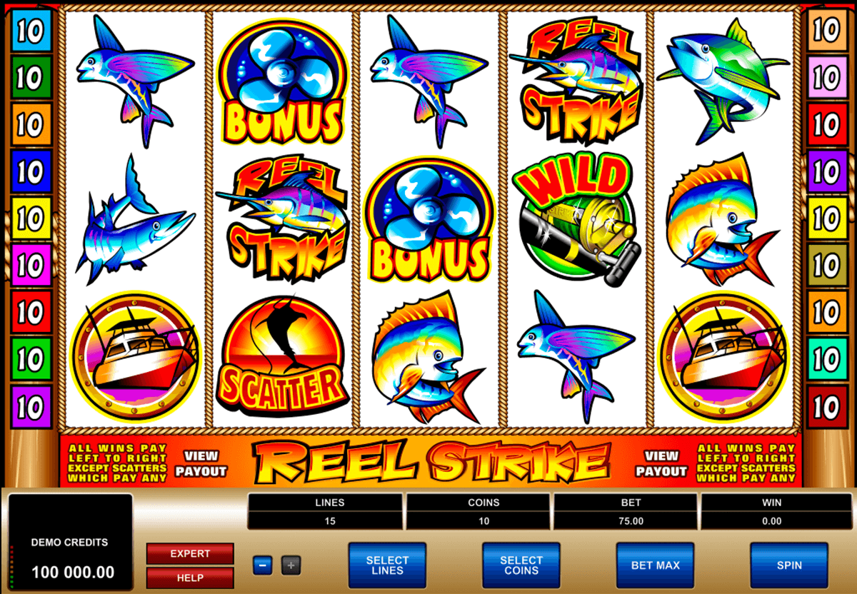 reel strike microgaming casinospil online