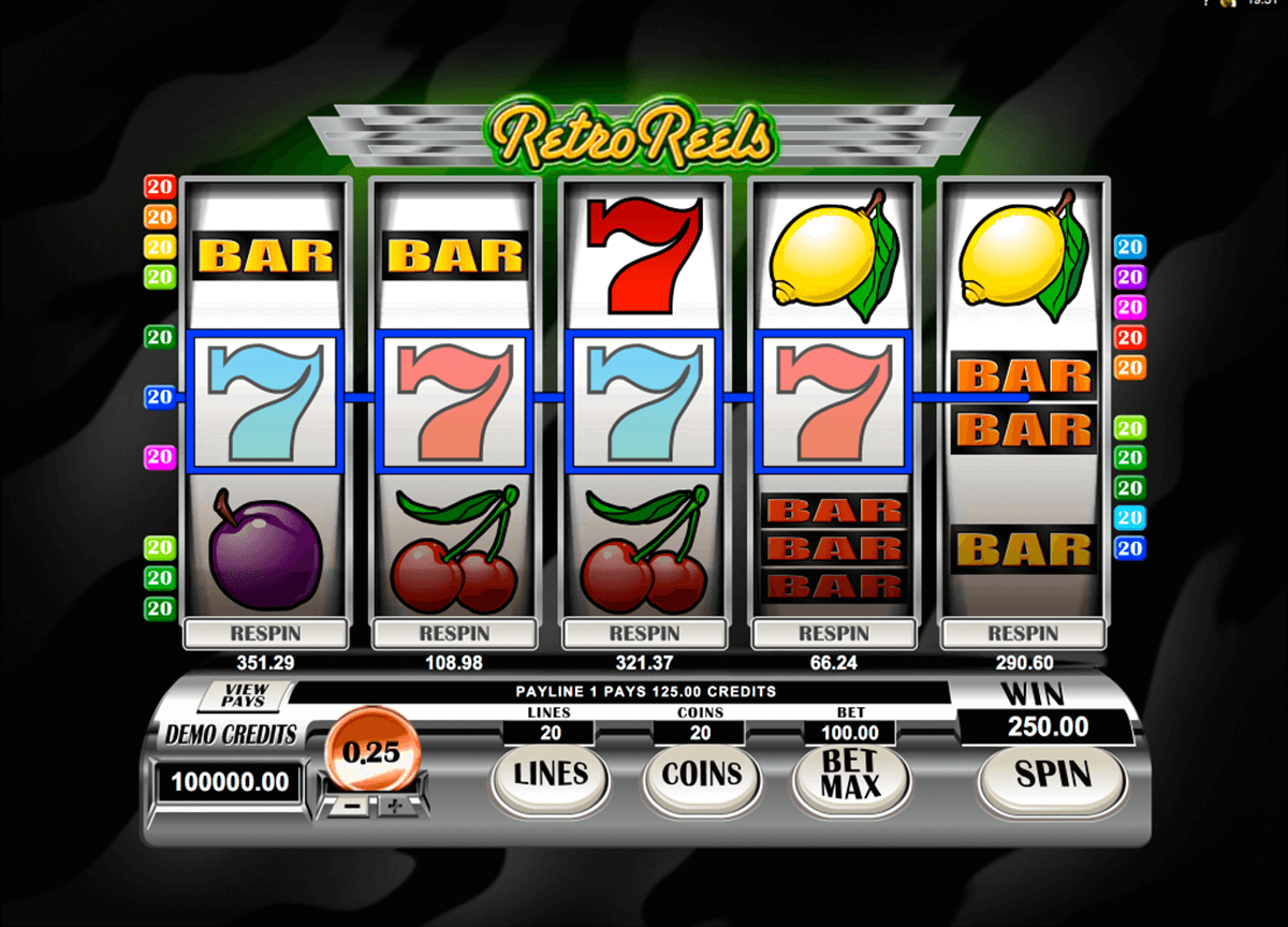 retroreels microgaming casinospil online