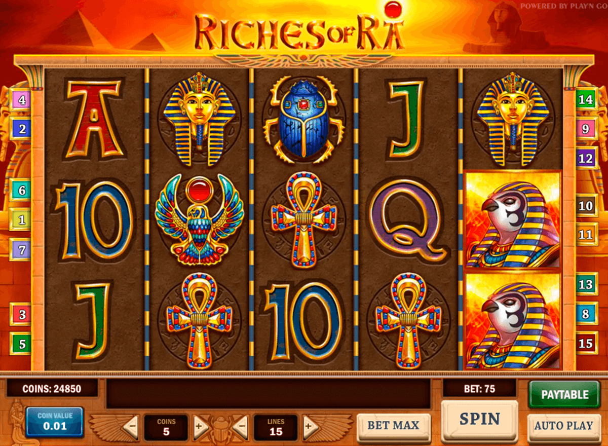 riches of ra playn go casinospil online