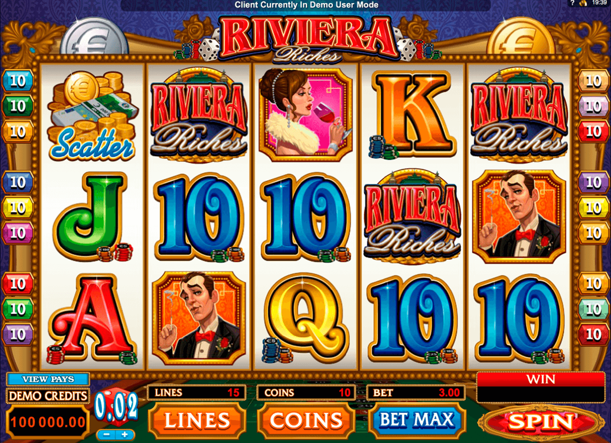 riviera riches microgaming casinospil online