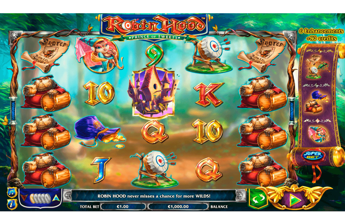 robin hood prince of tweets nextgen gaming casinospil online