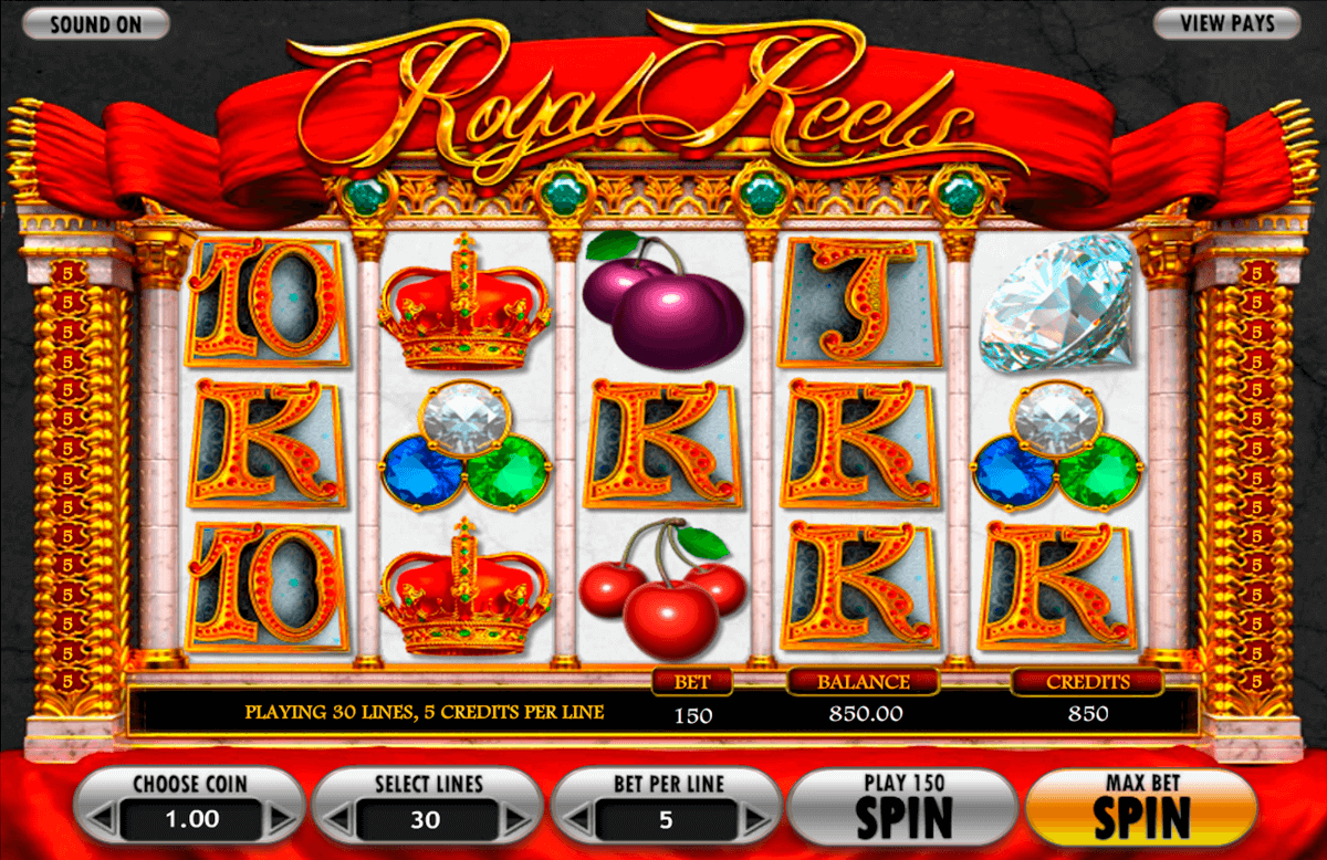 royal reels betsoft casinospil online