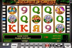 secret forest novomatic casinospil online