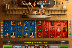 secrets of the sand novomatic casinospil online