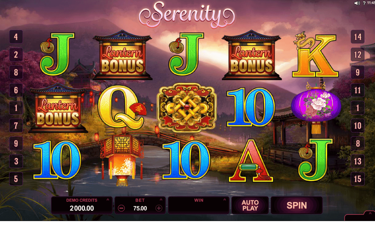 serenity microgaming casinospil online