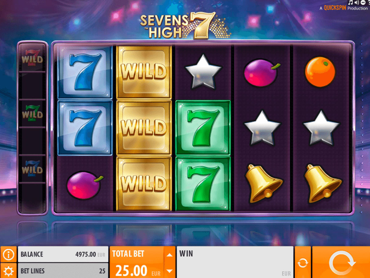 sevens high quickspin casinospil online