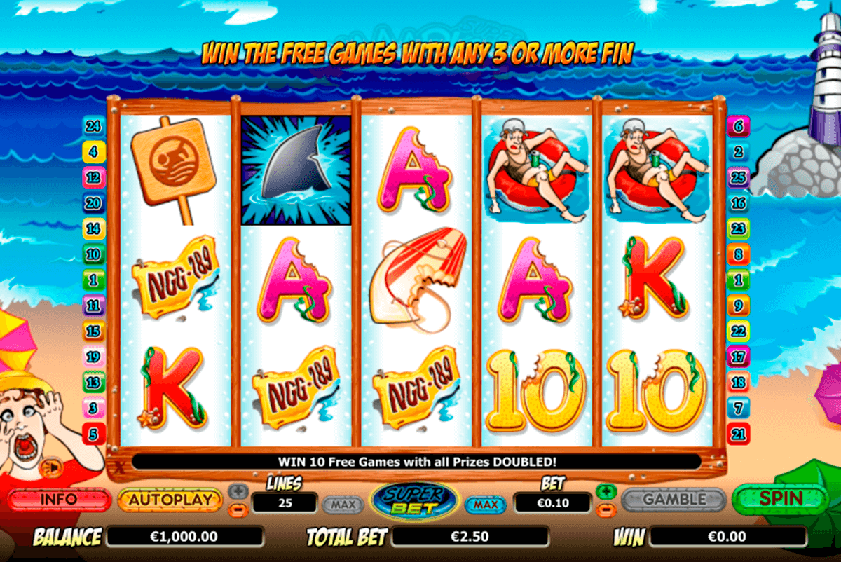 shaaark superbet nextgen gaming casinospil online