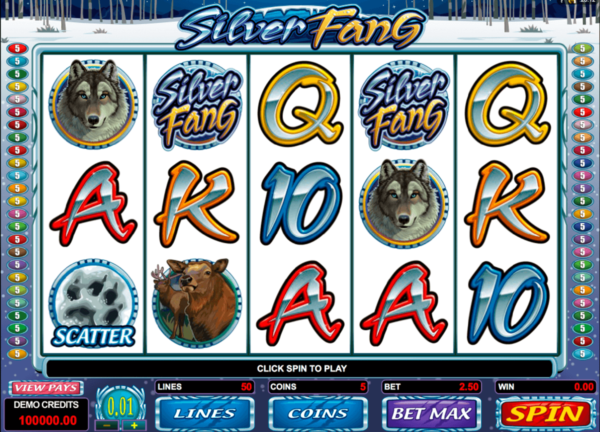 silver fang microgaming casinospil online