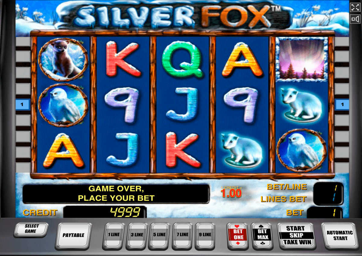 silver fox novomatic casinospil online