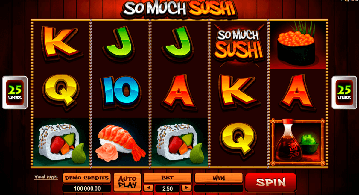 so much sushi microgaming casinospil online