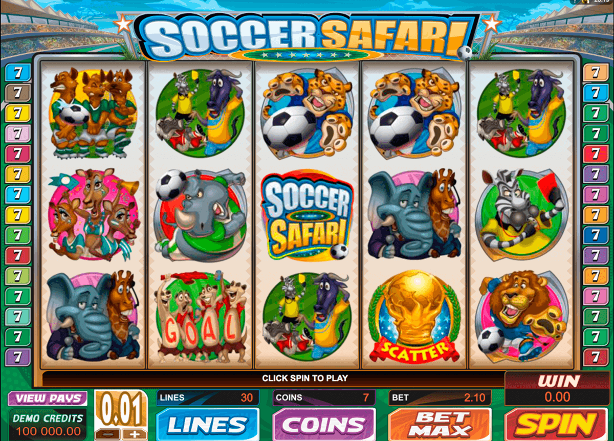 soccer safari microgaming casinospil online