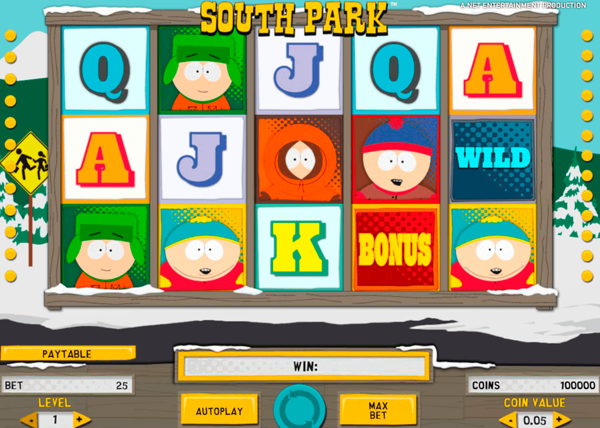 south park netent casinospil online