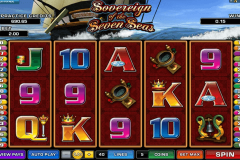 sovereign of the seven seas microgaming casinospil online