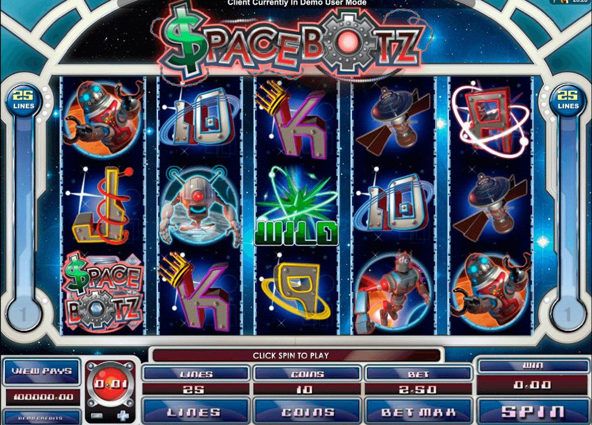 space botz microgaming casinospil online