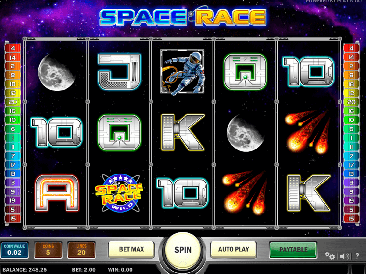 space race playn go casinospil online