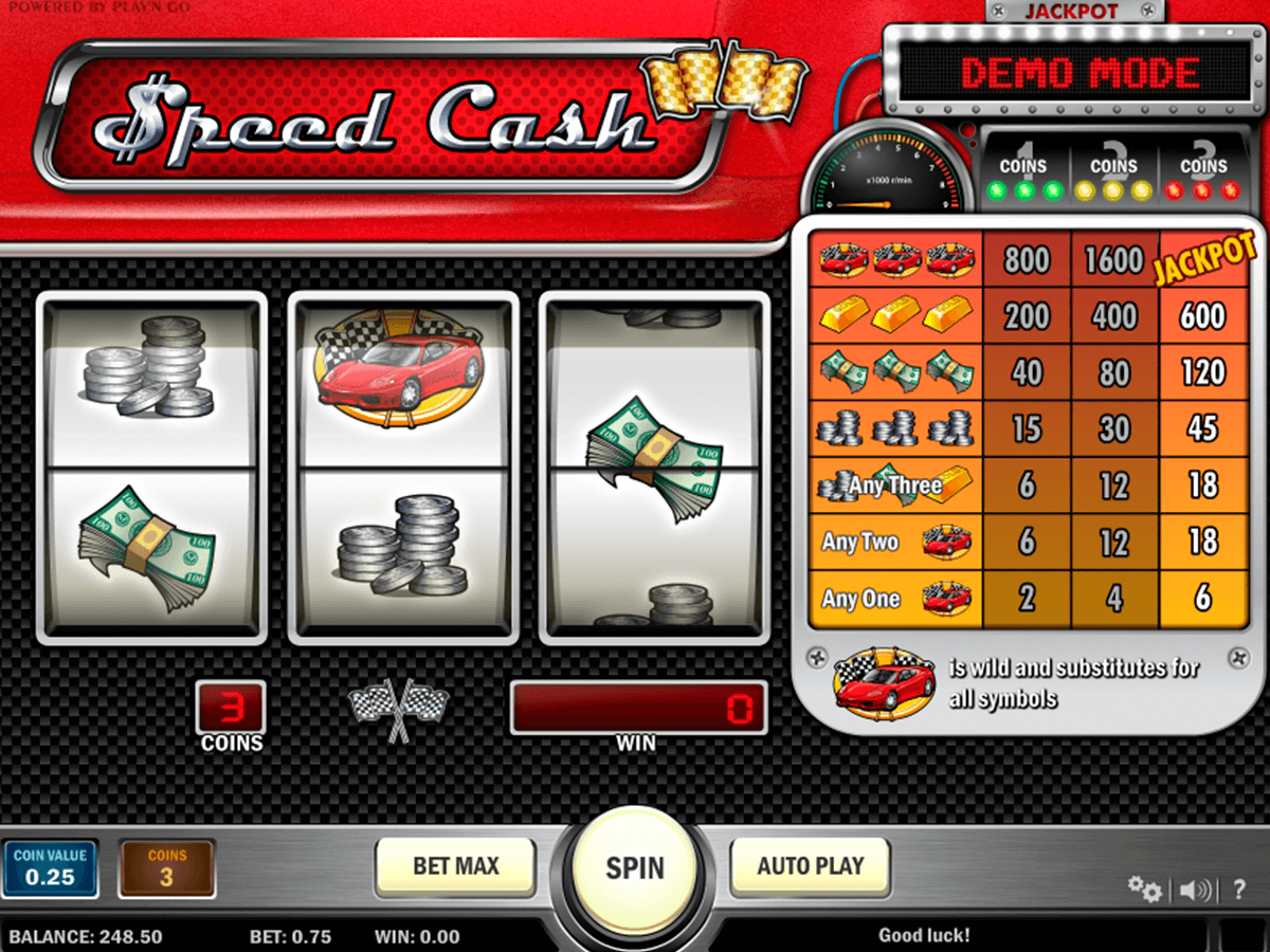 speed cash playn go casinospil online