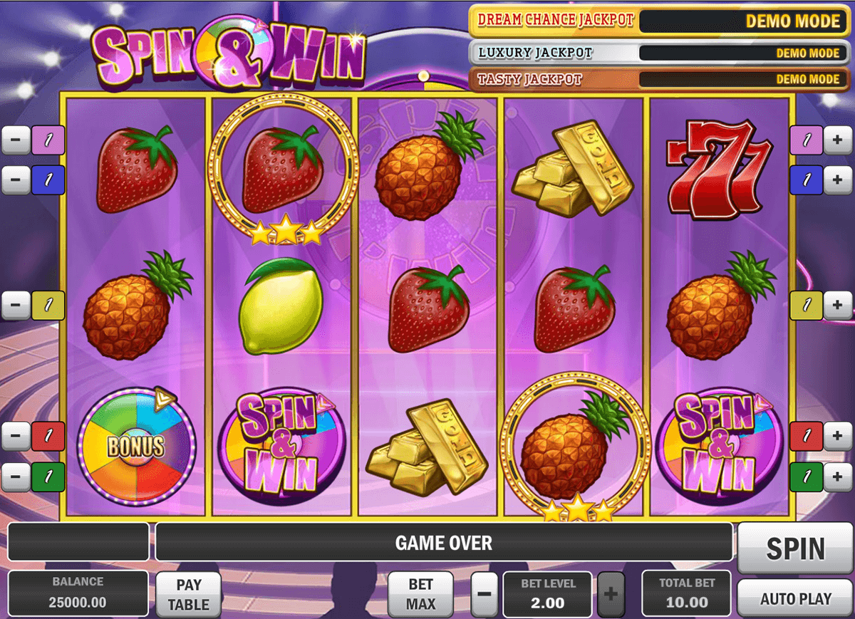spin and win playn go casinospil online