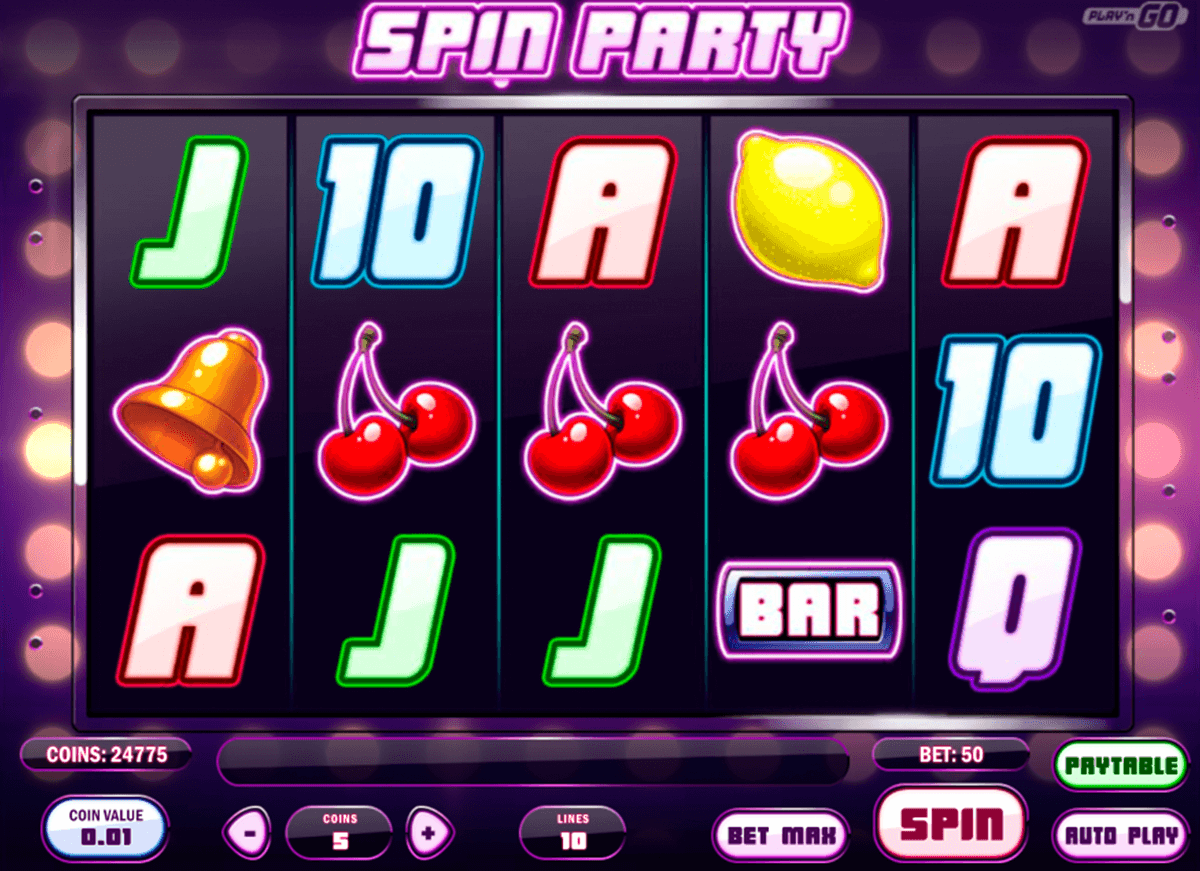 spin party playn go casinospil online