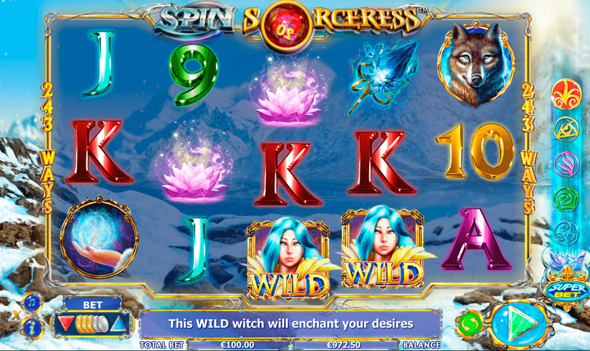 spin sorceress nextgen gaming casinospil online