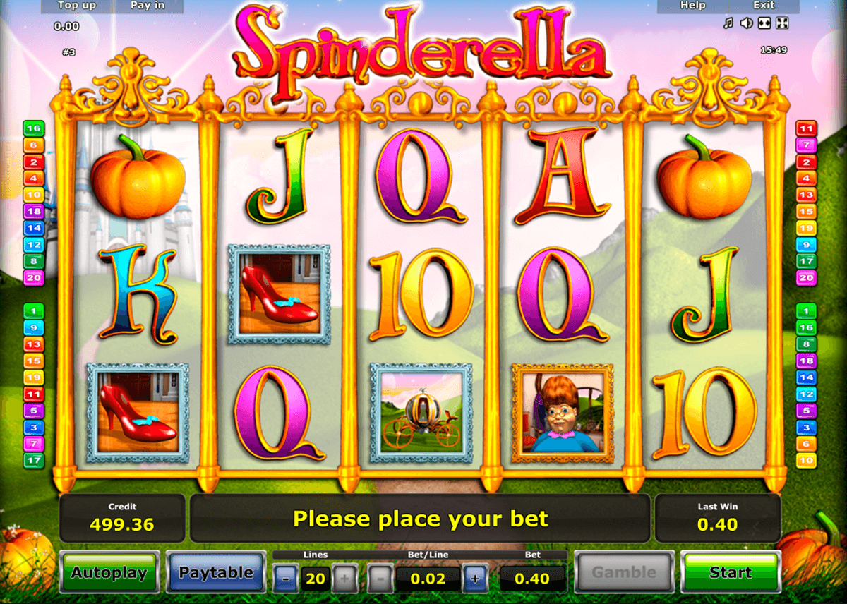 spinderella novomatic casinospil online