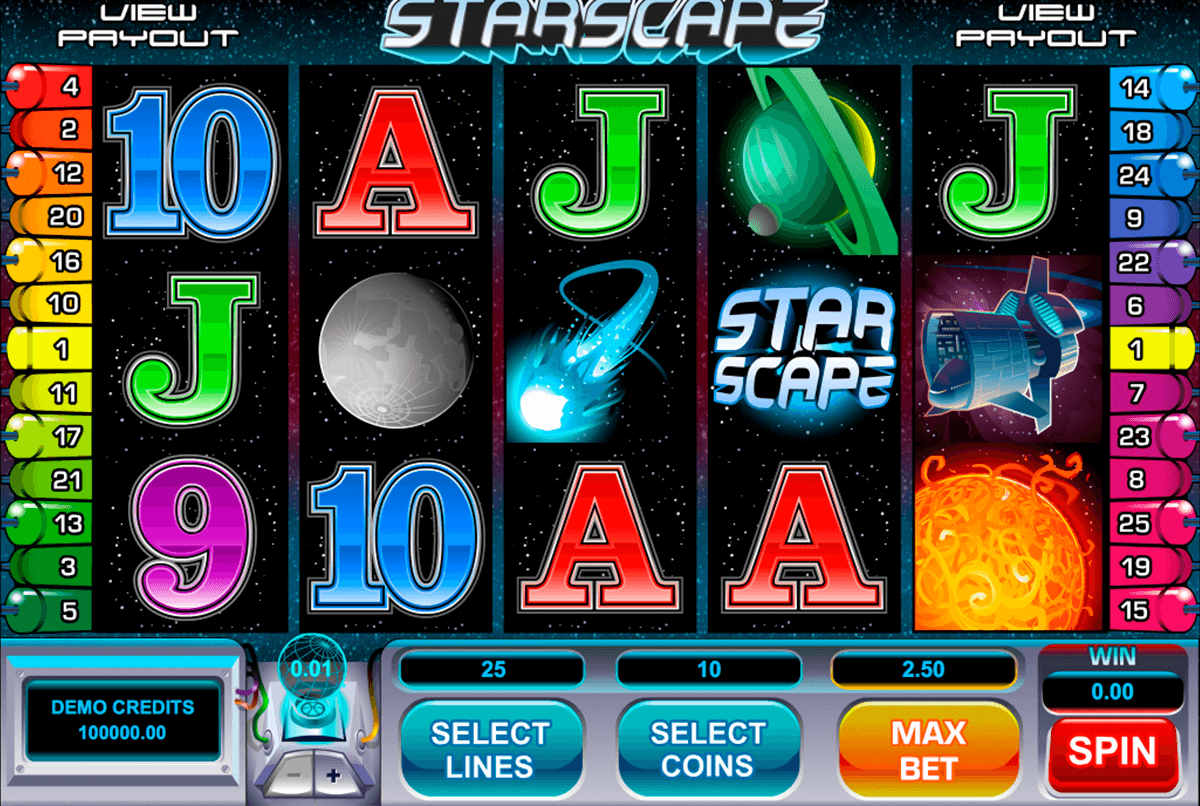 starscape microgaming casinospil online