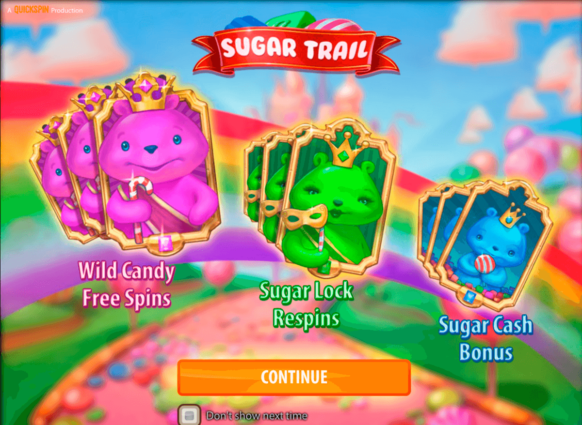 sugar trail quickspin casinospil online