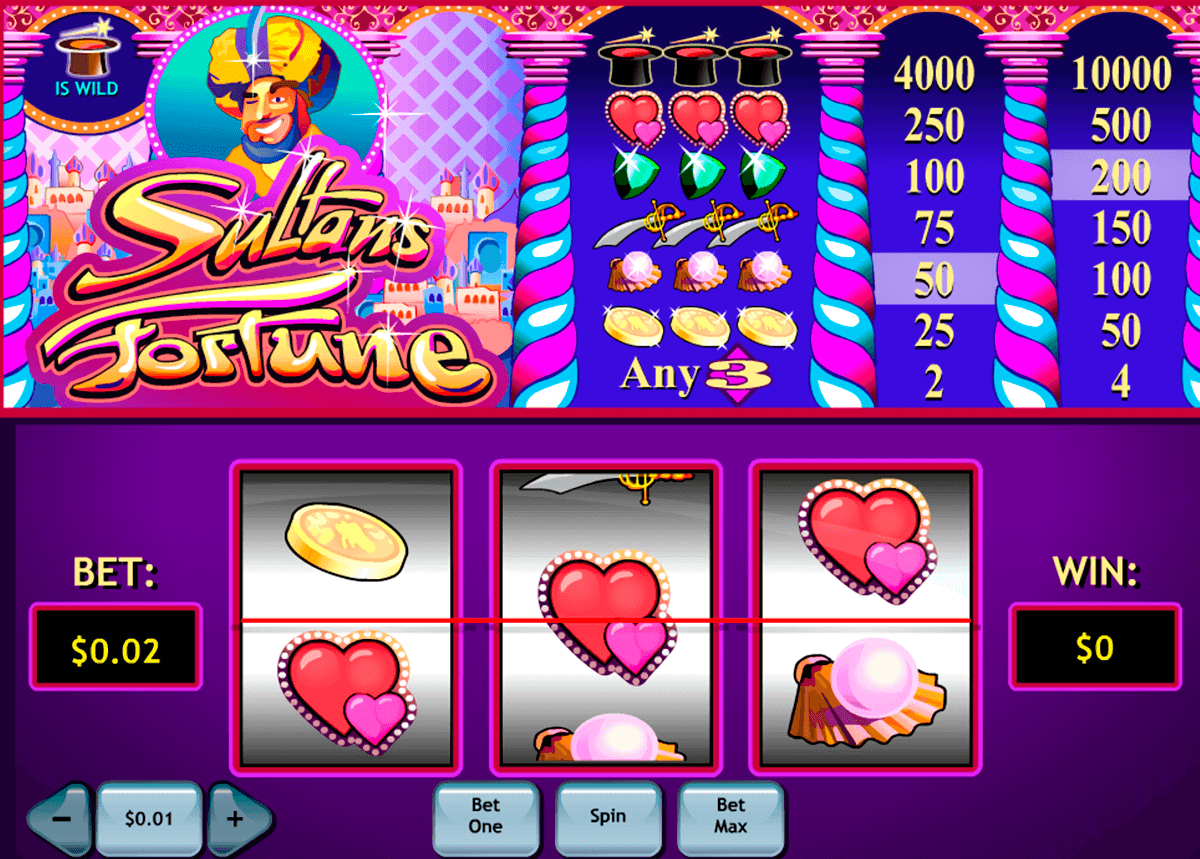 sultans fortune playtech casinospil online