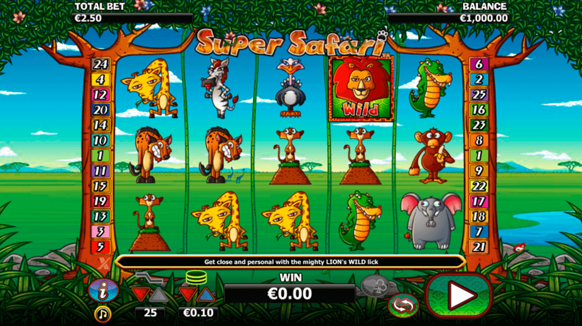 super safari nextgen gaming casinospil online