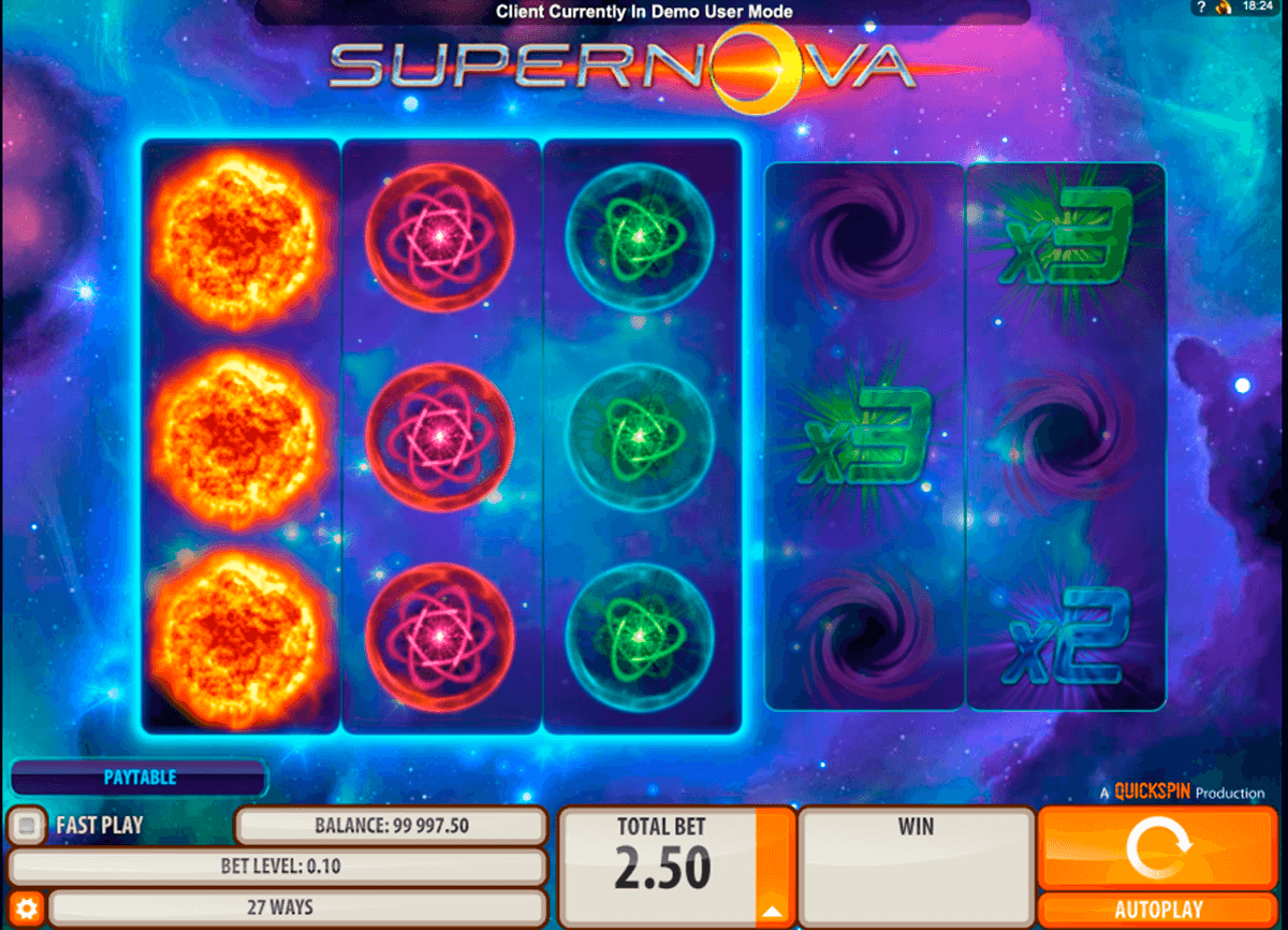 supernova quickspin casinospil online