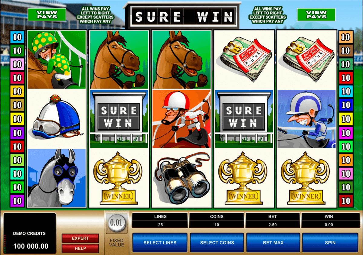 sure win microgaming casinospil online