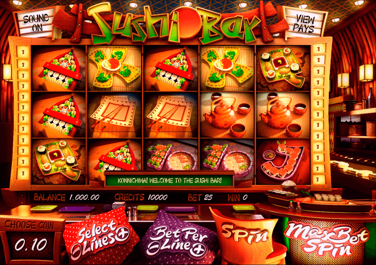 sushi bar betsoft casinospil online