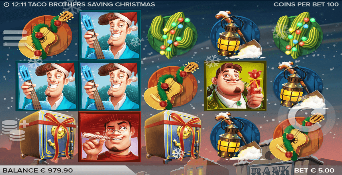 taco brothers saving christmas elk casinospil online