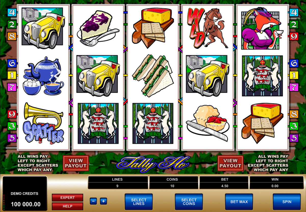 tally ho microgaming casinospil online