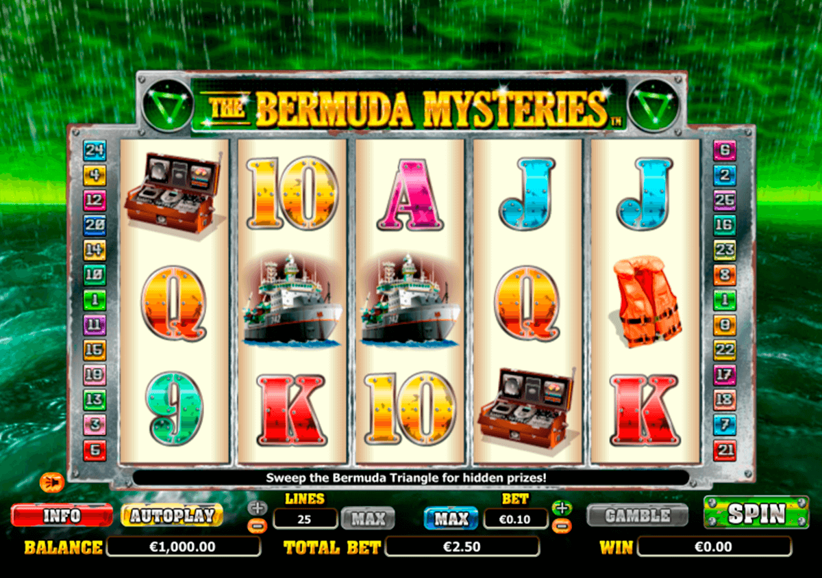 the bermuda mysteries nextgen gaming casinospil online
